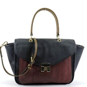 Tommy Hilfiger Postino Colorblock Leather
